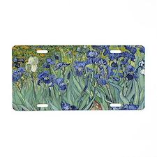 Van Gogh - Irises Aluminum License Plate