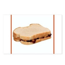 Peanut Butter and Jelly Sandwich Postcards (Packag