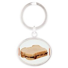 Peanut Butter and Jelly Sandwich Keychains