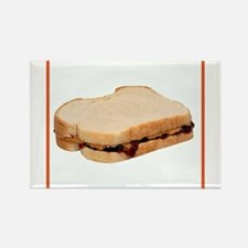 Peanut Butter and Jelly Sandwich Magnets