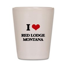 I love Red Lodge Montana Shot Glass