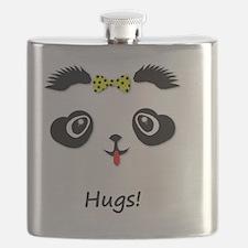 Panda Bear Hugs Flask
