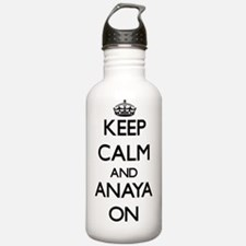 Keep Calm and Anaya ON Water Bottle