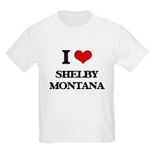 I love Shelby Montana T-Shirt
