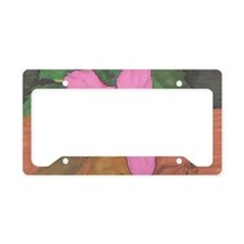 Made_In_China - Hibiscus License Plate Holder