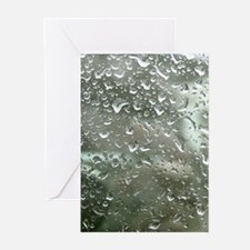 Rain Drops Greeting Cards