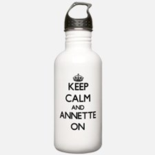 Keep Calm and Annette Water Bottle