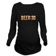 Beer Thirty Long Sleeve Maternity T-Shirt