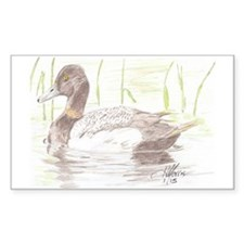Cute Brown ducks Decal