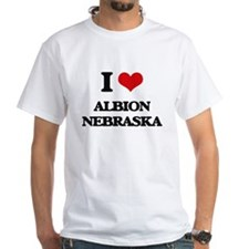 I love Albion Nebraska T-Shirt