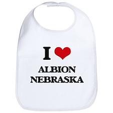 I love Albion Nebraska Bib