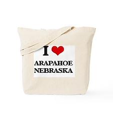 I love Arapahoe Nebraska Tote Bag