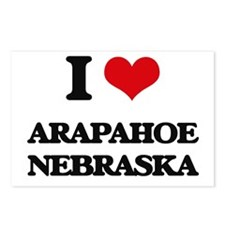 I love Arapahoe Nebraska Postcards (Package of 8)