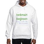 beSmart beGreen Hooded eco Sweatshirt