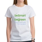 beSmart beGreen Women's eco T-Shirt