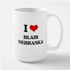 I love Blair Nebraska Mugs