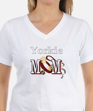 Yorkie Dog Mom T-Shirt