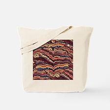 Vintage Marbled Paper Tote Bag