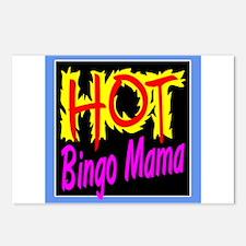 Hot Bingo Mama Postcards (Package of 8)
