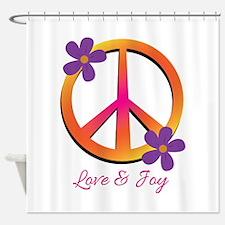 Love & Joy Shower Curtain