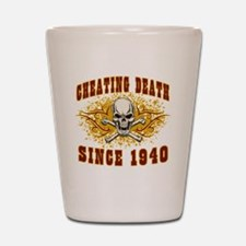 cheating death 1940 Shot Glass