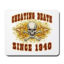cheating death 1940 Mousepad