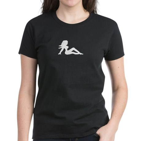 Mudflap Girl Women's Dark T-Shirt