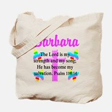 PSALM 118:14 VERSE Tote Bag