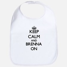 Keep Calm and Brenna ON Bib