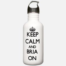 Keep Calm and Bria ON Water Bottle