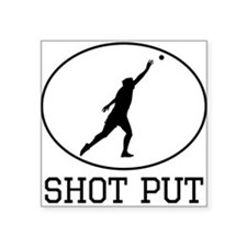 Shot Put Sticker