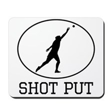 Shot Put Mousepad