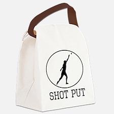 Shot Put Canvas Lunch Bag