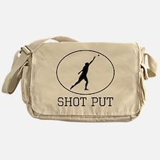 Shot Put Messenger Bag