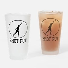 Shot Put Drinking Glass