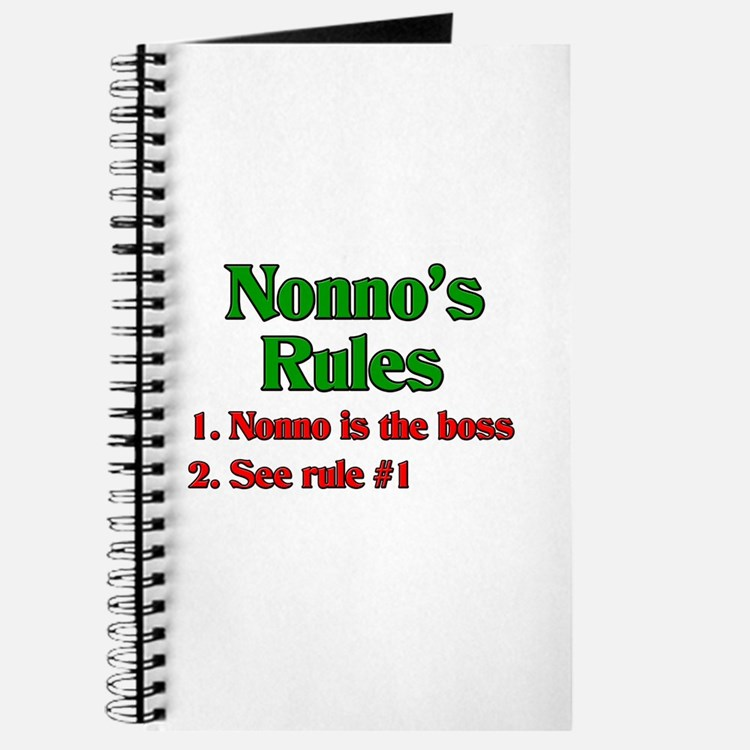 Nonno's Rules Journal