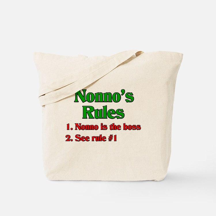 Nonno's Rules Tote Bag