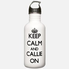 Keep Calm and Callie O Water Bottle