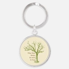 May There Always Be Trees to Hug Keychains