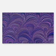Purple Fanfair Decal