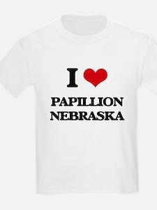 I love Papillion Nebraska T-Shirt