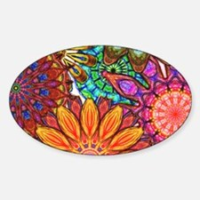 Funky Flowers Decal