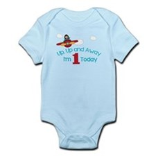 Up & Away I'm 1 Today Body Suit