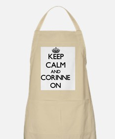 Keep Calm and Corinne ON Apron
