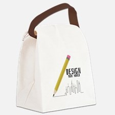 Design Your World Canvas Lunch Bag