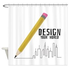 Design Your World Shower Curtain