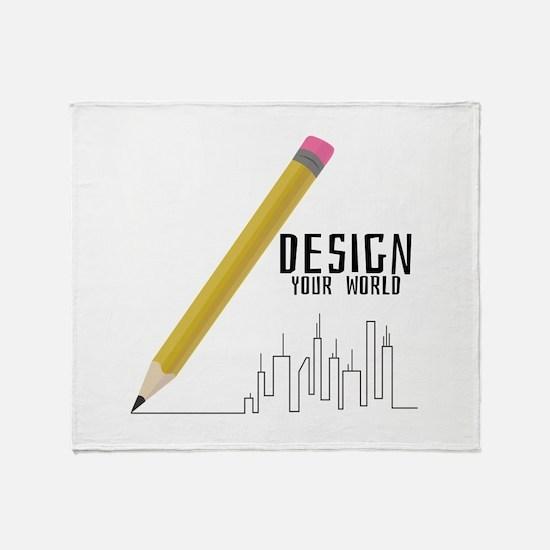 Design Your World Throw Blanket