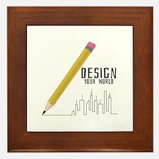Design Your World Framed Tile