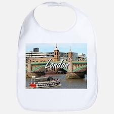 Southwark Bridge, Thames River, London, Englan Bib