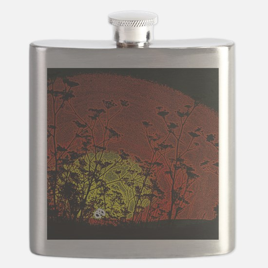 Bloody Sunrise Flask